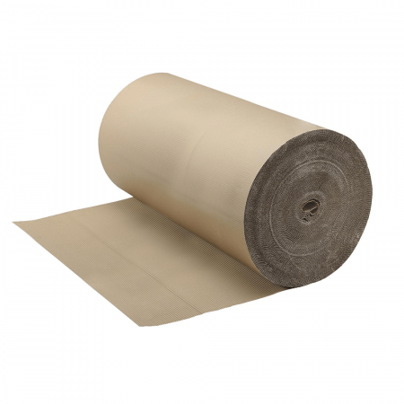 Corrugated Roll of Cardboard