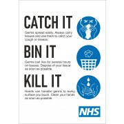 Catch It Bin It Kill It Sign