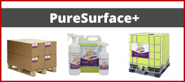 puresuface plus, puresurface+, antibac, antibacterial cleaner, cleaner, surface cleaner, disinfectant, surface disinfectant, long lasting cleaner